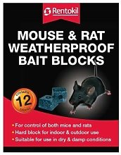 Rentokil FH15 Water Proof Mouse and Rat Killer