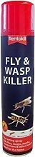 Rentokil Fly & Wasp Killer Spray 300ml