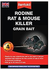 Rentokil Rodine Mouse & Rat Killer Grain Bait Pack