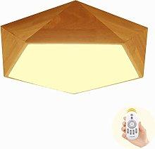 RenXin LED light ceiling wooden lamp 24W LED