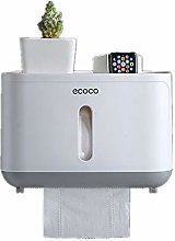 REOOHOUSE Wall-Mounted Paper Towel Dispenser Rolls