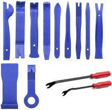 Repair Tool Set Car Removal Tool 13 Pieces Rubber