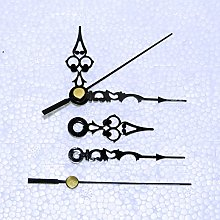 Replacement Black Metal Clock Hands for Quartz