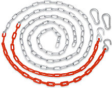 Replacement Coated Heavy-Duty Swing Seat Chain |