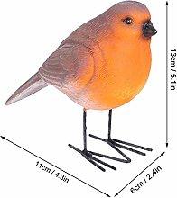 Resin Craft, Elegant Appearance Simulation Bird,