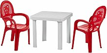 Resol 4 Person Mini Kids Garden Table and Chairs