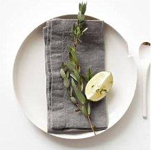Resort Innsbruck - Linen napkins 2 He Ash