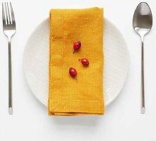 Resort Innsbruck - Linen Napkins Set of 2 Mustard