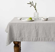 Resort Innsbruck - Silver Tablecloth - Tischdecke