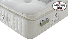 Rest Assured Knowlton 2000 Pocket Latex Pillow Top Mattress, Single