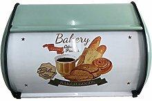 Restaurant Bread Box Bin Roll Top Lid,Solid