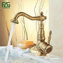 Retail Basin Faucet Deck Mounted Luxury Antique