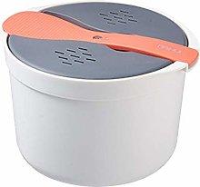 rethyrel 2L Microwave Rice Cooker Multifunctional