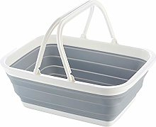 ReTink Folding Laundry Storage Basket Hamper