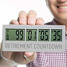 Retirement Countdown Clock, Up to 999 Day