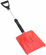 Retractable Snow Shovel with Telescopic Handle,