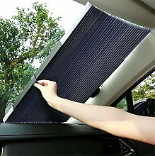 Retractable Windshield Sun Shade for