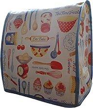 Retro 50s Baking PVC Food Mixer Appliance Cover