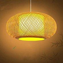 Retro Bamboo Woven Pendant Light Hanging Lights
