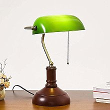 Retro Banker Desk lamp in Traditional Style