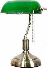 Retro Bankers Lamp Antique Style Desk Light