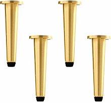 Retro Bathroom Pure Copper Cabinet Legs,Brass