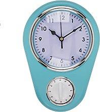 Rétro Blue Kitchen timer clock