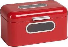 Retro Bread Bin Echtwerk Colour: Red