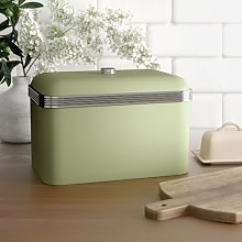 Retro Bread Bin Swan Colour: Green