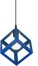 Retro Ceiling Light Modern Hanging Lamp Square