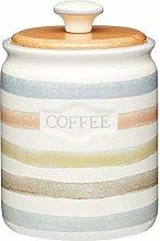 Retro Classic Striped Ceramic Tea Coffee Sugar