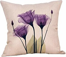 Retro Cotton Linen Home Sofa Decor Throw Pillow