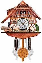 Retro Cuckoo Clock Pendulum Black Forest House