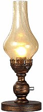 Retro Dimmable Table Lamp Antique Industrial