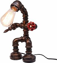Retro Industrial Style Steampunk Desk Lamp -
