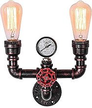 Retro Industrial Water Pipe Inner Wall lamp