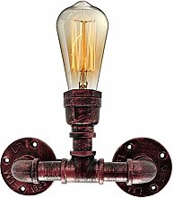 Retro Industrial Water Pipe Wall Lights, E27