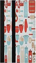 Retro Kitchen Utensils Refrigerator Door Handle