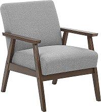 Retro Living Room Armchair Fabric Upholstery