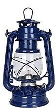 Retro Metal Kerosene Lamp, Vintage Portable Glass