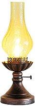 Retro Old-Fashioned Kerosene Lamp - Nostalgic
