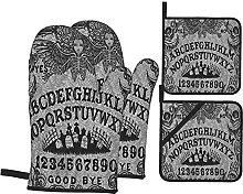 Retro Ouija Board Death Printed Resistant Hot Pads