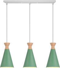Retro Pendant Lamp Green Industrial Nordic Design