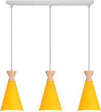 Retro Pendant Lamp Industrial 3 Lights Nordic