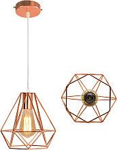 Retro Pendant Light Ø20cm Modern Ceiling Lamp