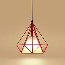 Retro Pendant Light Ø25cm Diamond Cage Ceiling