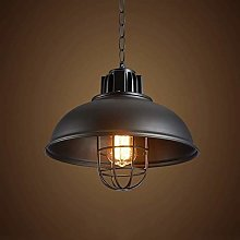 Retro Pendant Light Industrial Country Dome Bowl