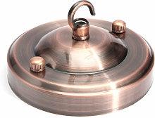 Retro pendant luminaire socket hook Bronze - Mohoo