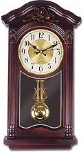 Retro Pendulum Wall Clock Quartz Decorative