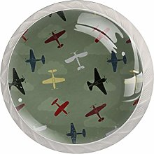 Retro Planes Drawer Knobs Pulls Cabinet Handle for